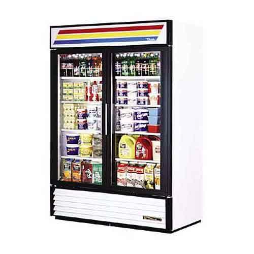 GDM-49F-G - Two Door Commercial Display Freezer with Glass Doors - New