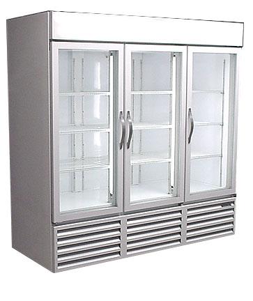 Used 3 door freezer used freezer used glass door - Glass door refrigerator freezer ...