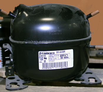COMP, 513307079..L EM45HNR 208-230v/50-60HZ 1/8HP