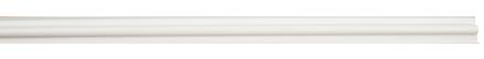 WHITE PRODUCE IDENTIFICATION STRIP FOR WIRE SHELF