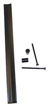 HANDLE KIT, DOOR BLACK 11.625