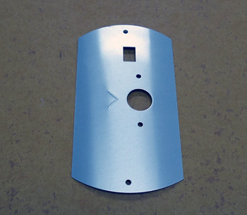 TEMP CONTROL COVER, WHT G.E. CONTROL AND CE APPROVED