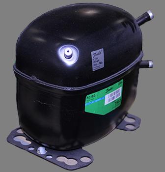 COMP, SC15G, 104G7550 1/2HP DANFOSS