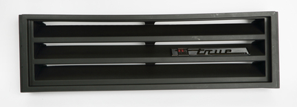 GRILL ASSEMBLY FOR GDM-10/12 RT BLACK PLASTIC