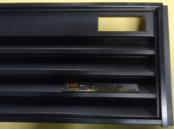 GRILL ASM GDM-26 RH BLK ELSTAT WITHOUT CONTROL