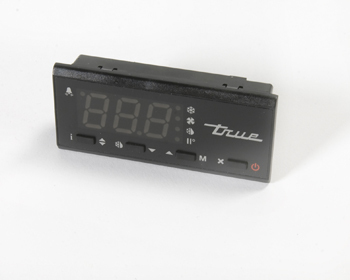 DISPLAY, LCD-5S-1TM BLUE LED BLACK