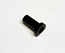 BUSHING, BLK NYLON .395 ID FOR HOLE .495 OD