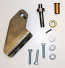 HINGE KIT, DOOR BTM LH, TM, INCLUDES SHAFT/STOP PIN