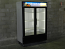 Used Two Glass Door Cooler Merchandiser