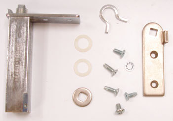 "HINGE KIT, DOOR TOP LH, CARTRIDGE, T-HALF DOOR USED ON DOOR WITH A 12"" HANDLE"