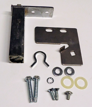 "HINGE KIT, DOOR TOP RH 3"" X 3"" CARTRIDGE TSSU/TUC/TWT"