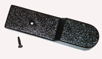 HINGE COVER-TOP GDM-12 BLK PLASTIC/FOR ON TOP OF HINGE