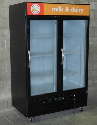 Beverage Air Two Glass Door Cooler Merchandiser