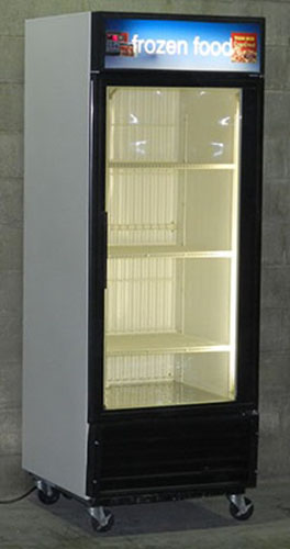Used Single Door Freezer